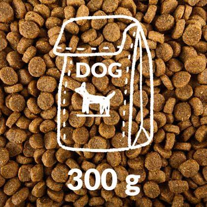 Hunde-Trocken-Futter-300g