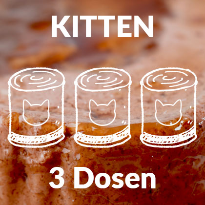 Katzen-Nass-Futter-kitten-3dosen