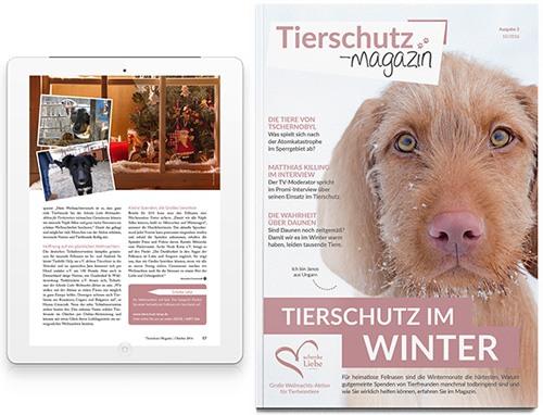 Tierschutz-Magazin Winter 2016 online lesen Tierschutz-Shop