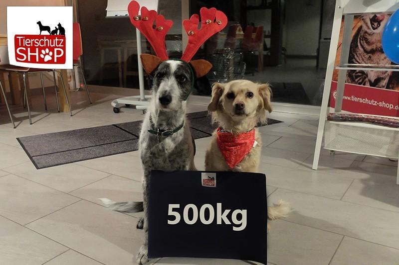 Futterspende-Weltrekord-Tierschutzshop