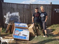 Pawu Ukraine Spenden Tieschutz-Shop helfen
