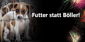 Futter-statt-Böller Tierschutz-Shop Futter spenden