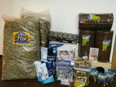 Spendenankunft Tierheim Dallau