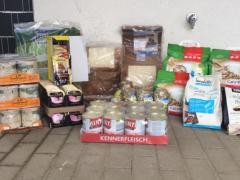 Spendenankunft Tierschutzverein Lübbecke