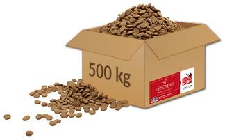 Tierheim in Not Aktion Montagsziel Paket 500 kg Futter