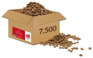 Tierheim in Not Aktion geschafft 7.500 Pakete Tierschutz-Shop