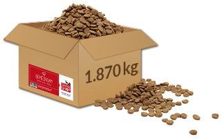 Tierheim in Not Aktion Welttierschutz-Tag Paket 1.870 kg Futter