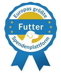 Europas größte Futter-Spendenplattform Siegel