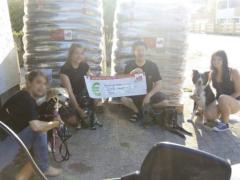 Spendenankunft Tierhilfe-Weyarn-Waarnkirchen
