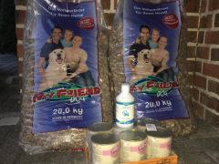 Spendenankunft Oktober Hundehilfe Niko