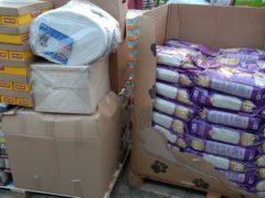 Spendenankunft Katzenhilfe Gelderland 3