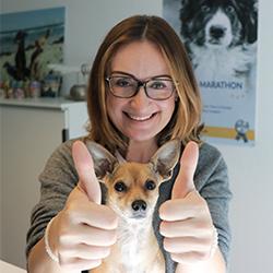 Spenden-Marathon für Tiere Anmeldungsphase Hanna
