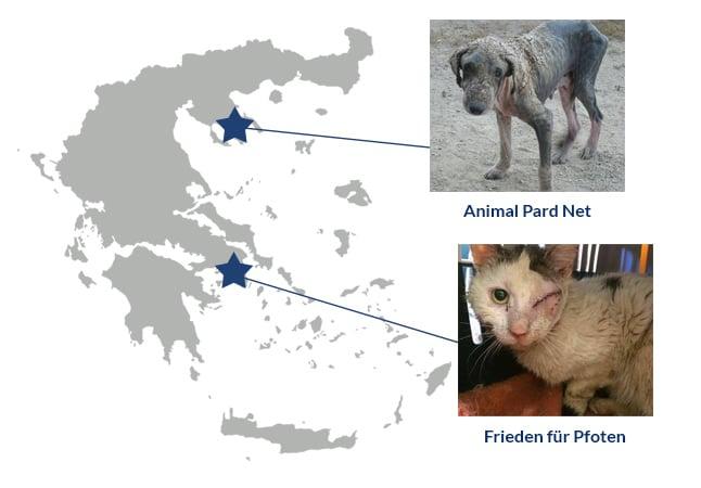 Griechenlandkarte-Spendenmarathon