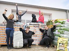 Spendenankunft Tierheim Lübbecke 1