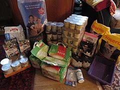 Spendenankunft Tierschutzinitiative-Odenwald