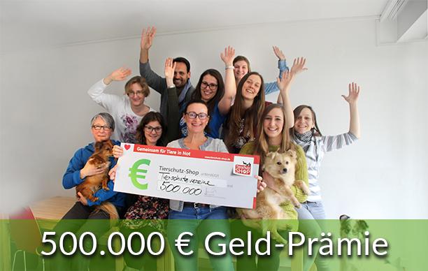 Geld Prämie Happy End 500.000 Geld-Prämie