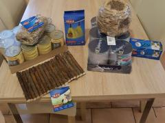 Spendenankunft Tierheim und Tierschutz Recklinghausen