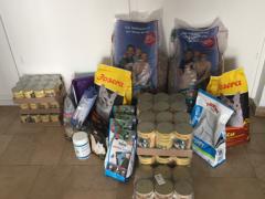 Spendenankunft Tierschutzinitiative Odenwald e.V.