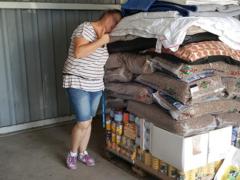 Spendenankunft Die Futterboten 2