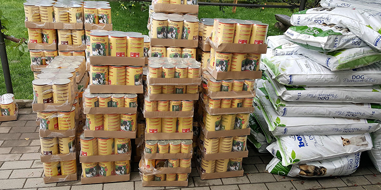 Spendenankunft-Kastrieren-statt-töten-Pentru-Animale