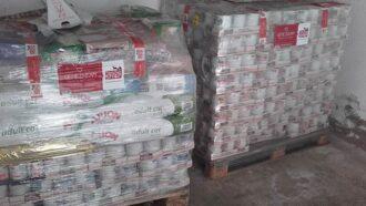 Tierschutz-Shop leistet schnelle Hilfe im Notfall: Futterlieferung nach einem Feuer