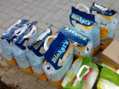 Spendenankunft Tierhilfe Wendland 1