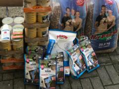Spendenankunft Fellnasen Hilfe Bosnien 1