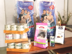 Spendenankunft Haustierhilfe Lübeck