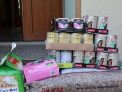 Spendenankunft Tierheim Remagen