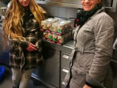 Spendenankunft Tierschutzverein Freiburg
