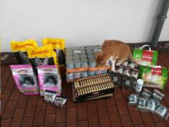 Spendenankunft Wir fürs Tier im Mühlenkreis 1