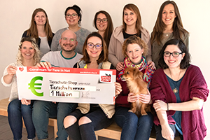 1 Million Euro Geld-Prämie Teamfoto