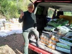 Spendenankunft Ein Zuhause für verlassene Tiere NEU 3