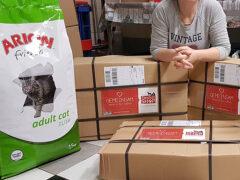 Spendenankunft_Katzenschutzverein Wolgast e.V. 3