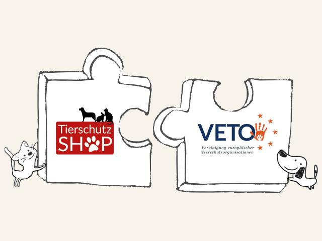 Tierschutz-Shop VETO Logo