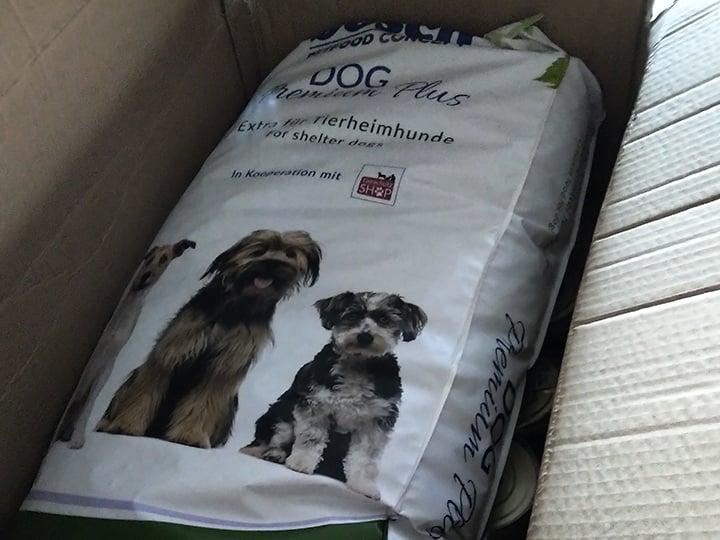 Hunde in Satu Mare e.V.-Futterspendenankunft-juli-2019-WL-Deutschland3