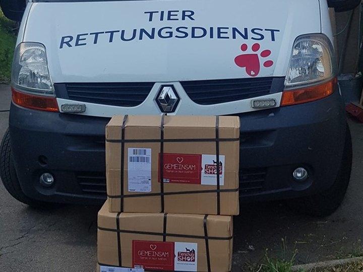 Tier Rettungsdienst Zollernalbkreis e.V.-Futterspendenankunft-juli-2019-WL-Deutschland1