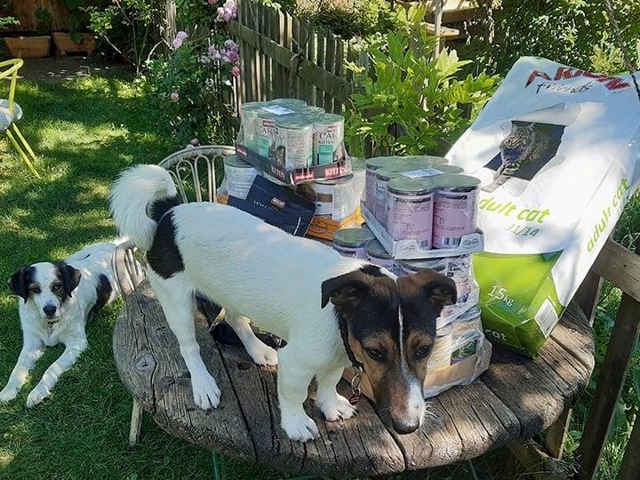 Tierhilfe Fortuna e. V.-Futterspendenankunft-juli-2019-WL-Deutschland3