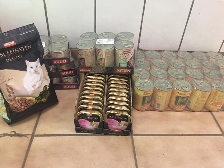 Tierhilfe Pfotentraum e.V.-Futterspendenankunft-Juli-2019-Spendenaktion WuK-Alarm-Ungarn1