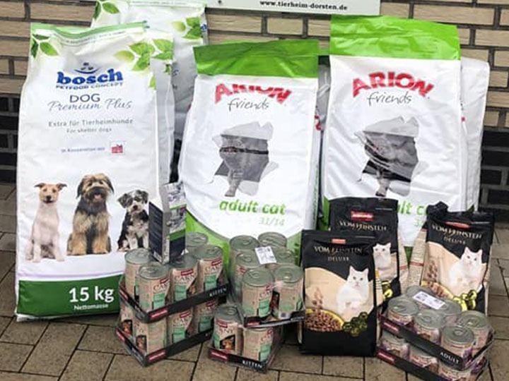 Tierschutzverein Dorsten und die Herrlichkeit Lembeck e.V. -Futterspendenankunft-september 2019-WL-Deutschland (1)