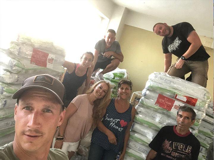 Zenias Tiere e.V.-Futterspendenankunft-september-2019-Spendenaktion-Sommerloch-Griechenland-(1)