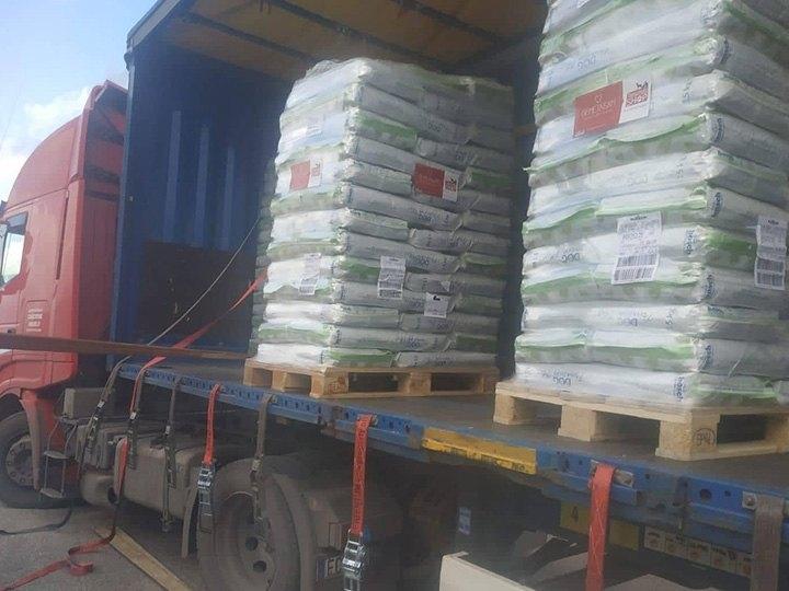 Leben für Streuner e. V.-Futterspendenankunft-oktober-2019-THdM Italien (1)