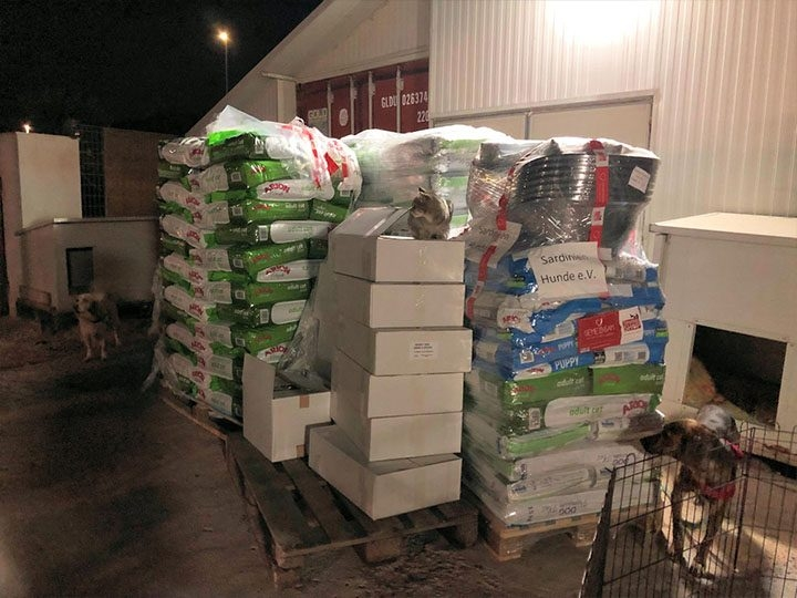 Sardinienhunde e.V. -Futterspendenankunft-oktober 2019-Spendenaktion Tödliches Sommerloch-Italien (1)