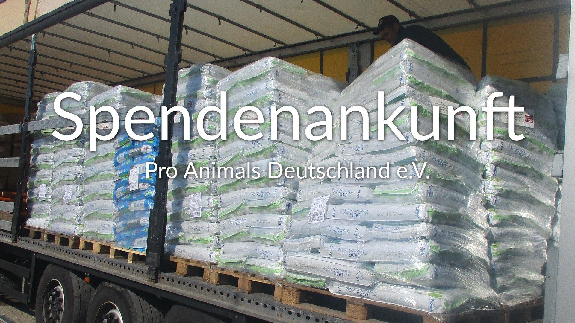 Pro Animals Deutschland e.V.-Notfallhilfe-Corona-Rumänien-VIDEO